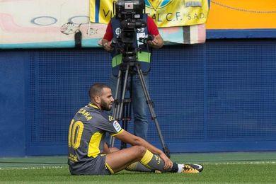 Las Palmas pierde a Tannane durante seis semanas por una lesión en el aductor