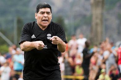 Un River-Boca de hace 20 años fue el último partido oficial de Diego Maradona