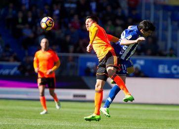 El Valencia tiene un balance favorable en Vitoria, pero perdió en la última Liga