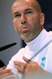 """Zidane espera en Girona """"un partido y nada más"""" y habla """"solo de fútbol"""""""