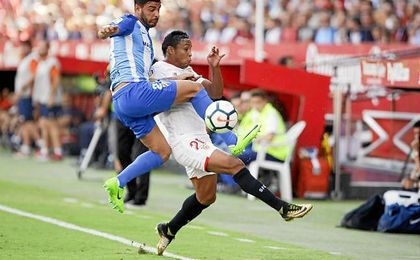 Luis Muriel, en la imagen contra el Málaga.