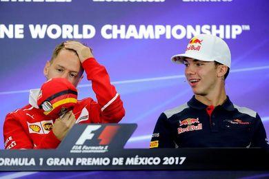 Vettel, Bottas y Gasly le desean lo mejor a Alonso en Daytona