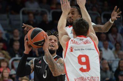 78-72. El Baskonia no reacciona y encadena su cuarta derrota en la Euroliga