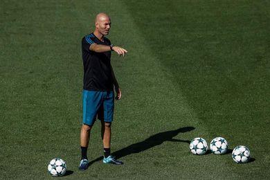 Zidane empieza a preparar la visita a Girona