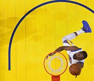 120-117. Durant aporta doble-doble y Warriors vencen a Wizards
