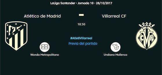 Atlético-Villarreal, en directo