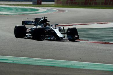 Hamilton sale tercero para igualar los cuatro títulos de Vettel, en 50 ´pole´