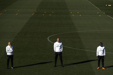 Nueve novedades en la convocatoria de Zidane; Vallejo y Mayoral descartados