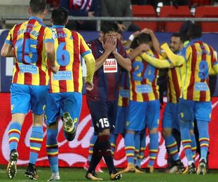 2-2. El Levante desaprovecha un 0-2 en Eibar