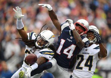 21-13. Brady pasa para 333 yardas en el triunfo de los Patriots sobre los Chargers