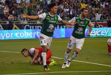 El argentino Boselli llega a once tantos en la goleada de León 6-2 sobre Veracruz