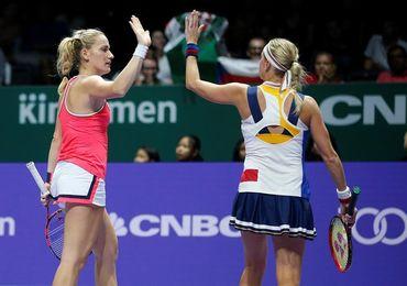 Babos y Hlavackova, campeonas en dobles
