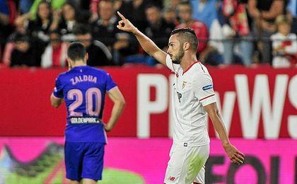 El Sevilla cortó una racha negativa.
