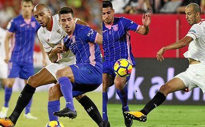 N´Zonzi y Pizarro jugaron en paralelo ante el Leganés.