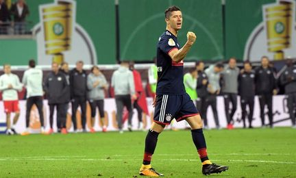 El Bayern viaja a Glasgow sin Robert Lewandowski