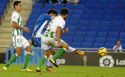 Gerard Moreno marcó el 1-0 en una posición ligeramente adelantada.
