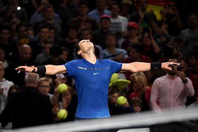 Nadal, triunfo y número uno; Dimitrov, Del Potro y Cilic también avanzan