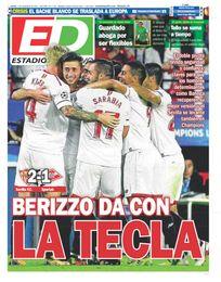La portada de ESTADIO Deportivo del jueves