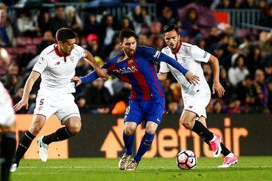 El Sevilla perdió en 12 de sus 13 últimas visitas ligueras al Barcelona
