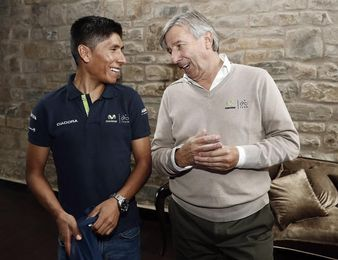 """Unzué destaca la """"suerte"""" de contar con tres líderes, que podrían ir al Tour"""