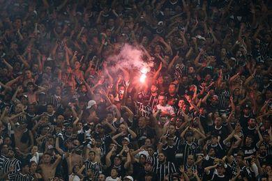 Más de 30.000 aficionados apoyan al Corinthians antes de recibir al Palmeiras