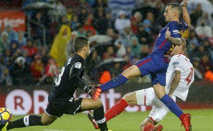 Barcelona 2-1 Sevilla FC: Alcácer sofoca el levantamiento