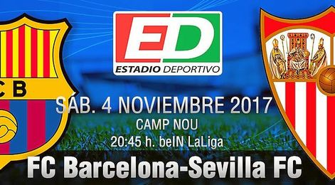 Barcelona-Sevilla F.C.: A las batallas se va con valentía