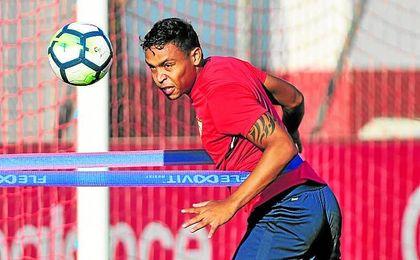 Muriel se quedará en Sevilla durante el parón de selecciones.