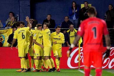 2-0. Sansone rescató al Villarreal ante un Málaga que no despega