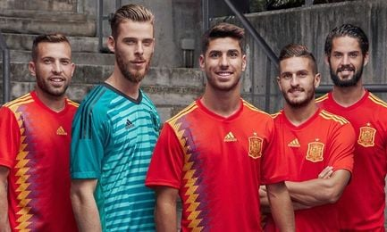 Argentina, México, Colombia y España lucirán camisetas inspiradas en pasado