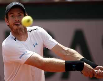 Murray vuelve a las pistas con un partido de exhibición contra Federer