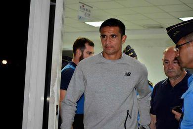 El delantero australiano Tim Cahill espera jugar el viernes contra Honduras