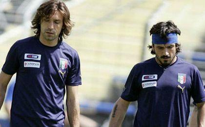 """Gattuso: """"Fuera del campo Pirlo era un hijo de p..."""""""