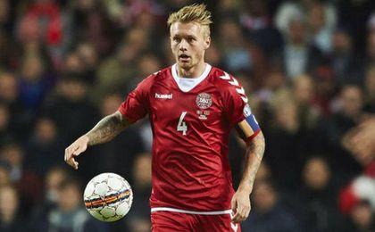 Kjaer, decidido a comandar a Dinamarca hacia el Mundial
