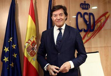 """Lete:""""Me parece estupendo que Hierro sea el director deportivo de Federación"""""""