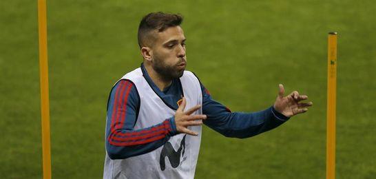 "Jordi Alba: ""Sería de tonto criticar a Neymar"""