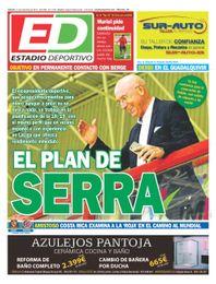 La portada de ESTADIO Deportivo de este viernes