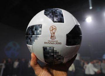 """Presentado """"Telstar 18"""", el balón oficial del Mundial de Rusia 2018"""