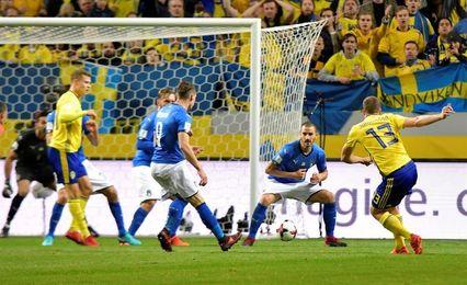 Una Italia contra las cuerdas recibe a Suecia con la obligación de remontar