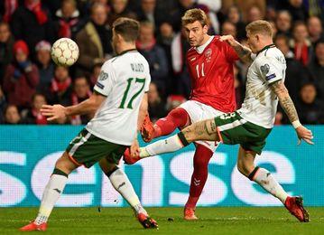 Irlanda y Dinamarca se juegan el Mundial en Dublín