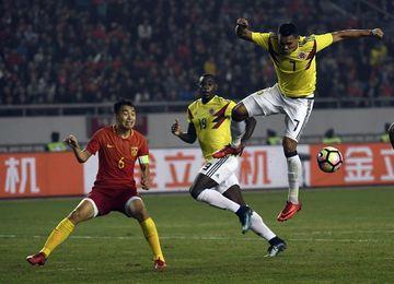 0-4. Colombia se da un festín ante la aturdida China de Lippi