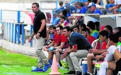 Juan Carlos Gómez, entrenador del Écija.