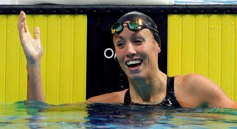 Jessica Vall, quinta en los 200 braza con nuevo récord de España en piscina corta