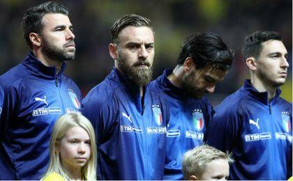 De Rossi se disculpó en el autobús de la Selección de Suecia por los pitos al himno