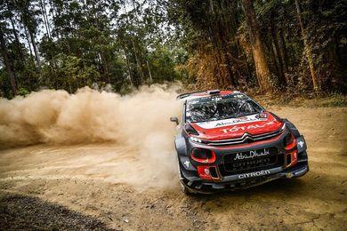 Andreas Mikkelsen, líder destacado en el Rally de Australia