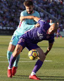 Gerard Piqué no jugará en Mestalla frente al Valencia