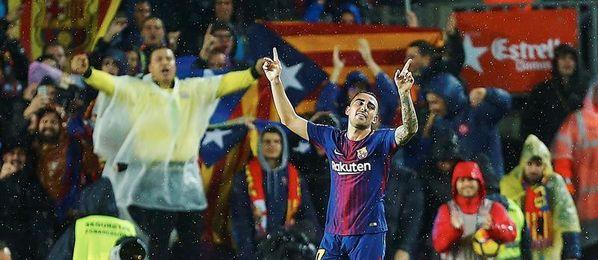 Paco Alcácer, Messi y Suárez formarán el tridente ofensivo ante el Leganés
