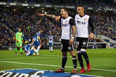0-2. El Valencia castiga la mala puntería del Espanyol