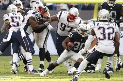 8-33. Tom Brady y los Patriots aplastan a Raiders en el Azteca