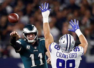 Brady y Wentz imponen su clase; Saints ponen emoción; ganan Vikings y Lions